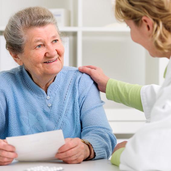 Gut informiert dank der Care Pflegeberatung.