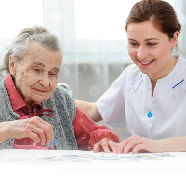 Altenpflege mit Herz und Verstand! Ihr Care Pflegedienst