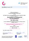 Zertifikat zur Qualifikation zum Wundexperten von Ralf Locker