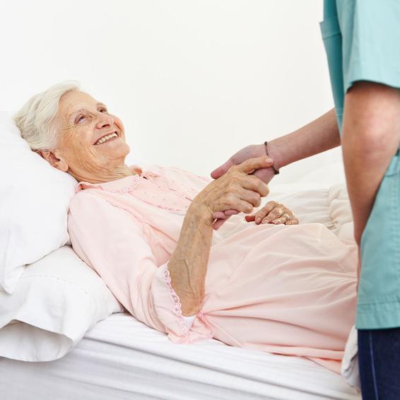 Wundversorgung und Pflege durch den Care Pflegedient